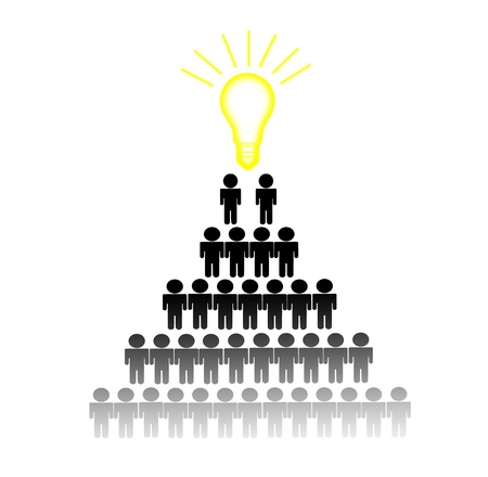 Choosing Idea Right Person employee for business recruitment  photo