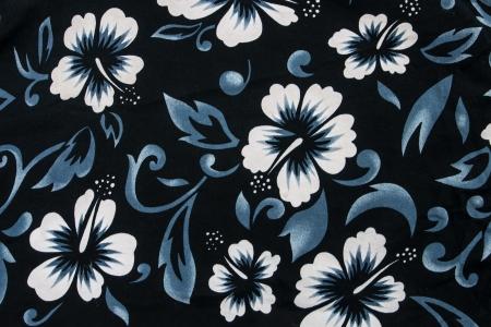 flor de hibisco perfeita tecido