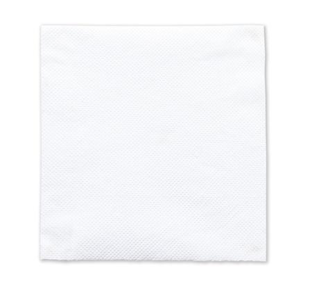 White tissue paper on white background Stock Photo - 18373076