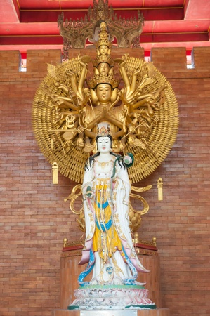Goddess of mercy Guan yin statue photo