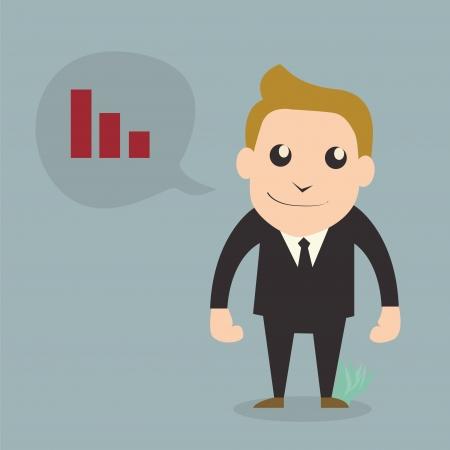 Successful businessman,Cartoon character Stock Vector - 18900901