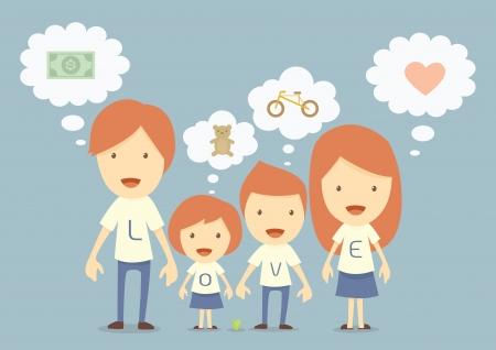 planificación familiar: familia hapy, sueño