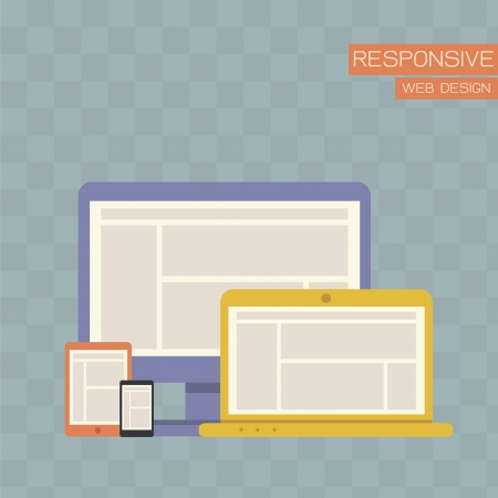 Responsive Web Design  Stock Vector - 20067272