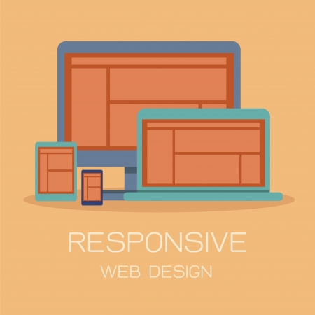 Responsive Web Design Stock Vector - 20885381
