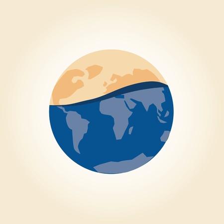 Die globale Erw?rmung Konzept Standard-Bild - 21019165