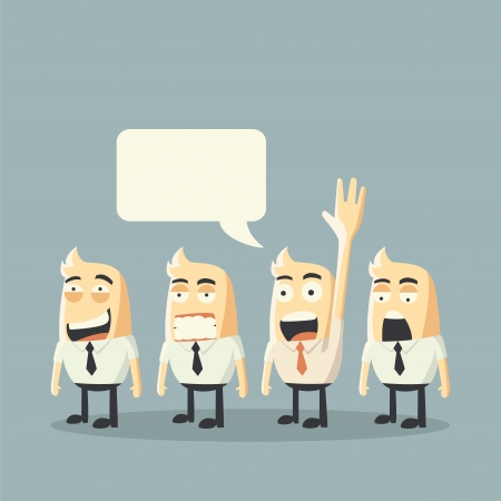 Volunteer concept Illustration