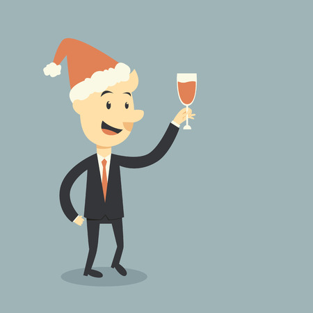 wines: businessman holding wine