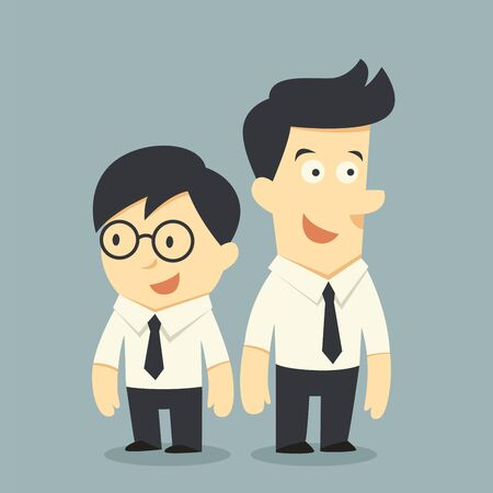 buddy: businessman buddy Illustration
