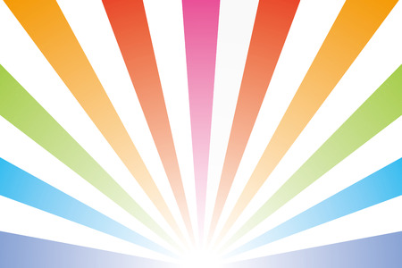 Background wallpaper  rainbow, rainbow color, radial, seven colors, sales, promotion, advertising, publicity, commercial  Vector