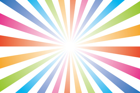 Background wallpaper  rainbow, rainbow color, radial, seven colors, sales, promotion, advertising, publicity, commercial