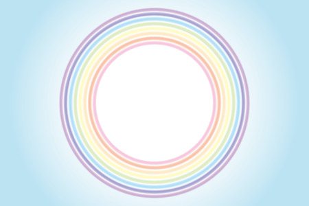 Background wallpaper  ring of rainbow color, a rainbow, 7 color, and a rainbow Banco de Imagens - 28966309