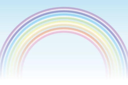Background wallpaper  ring of rainbow color, a rainbow, 7 color, and a rainbow Banco de Imagens - 28966311