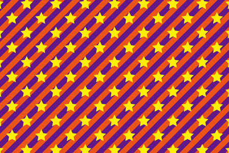 Background material wallpaper   Stripe pattern, stripes, stars, star, colorful