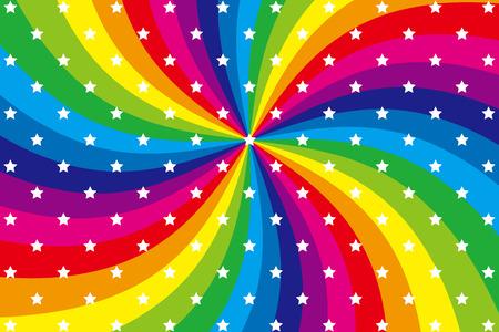 Background material wallpaper   Rainbow, radial, vortex