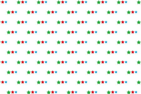 星のパターン  イラスト・ベクター素材