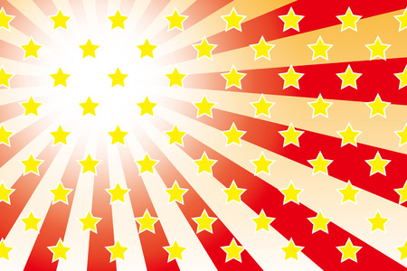 advertising material: Background material wallpaper   Radial, radiation, star, stars, Star Pattern, advertising, publicity, sales, commercial