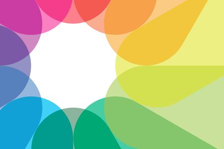 pr: Background material wallpaper   Seven colors, rainbow colors, rainbow, PR, commercial, advertising, publicity, flyers, promotional, sales, character case   Illustration