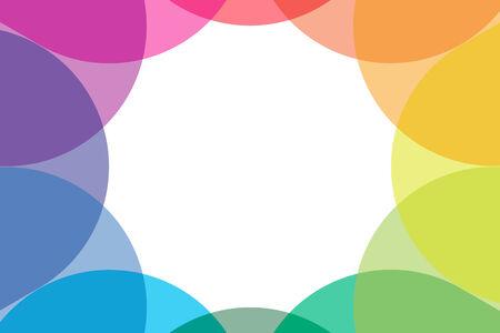 publicity: Antecedentes material de fondo de pantalla de siete colores, los colores del arco iris, arco iris, relaciones p�blicas, comercial, publicidad, publicidad, folletos, promoci�n, ventas, may�sculas y min�sculas Vectores