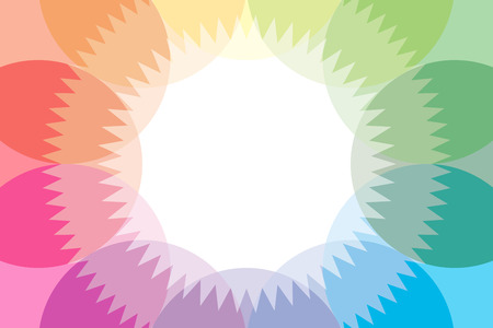 Background material wallpaper in rainbow colors Vector
