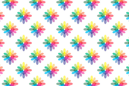 decayed: Background material wallpaper   Flower pattern, decayed flower, flowers, rainbow colors, 7 colors