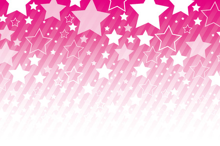 Background material wallpaper   Star, stardust, stripes,    イラスト・ベクター素材