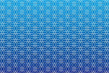Background material wallpaper   Japanese style Pattern, hexagonal pattern, traditional pattern   Illustration