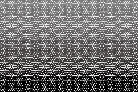 Background material wallpaper   Japanese style Pattern, hexagonal pattern, traditional pattern   Vectores