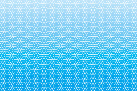 Background material wallpaper   Japanese style Pattern, hexagonal pattern, traditional pattern   Ilustração