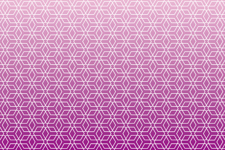 japanese style: Background material wallpaper   Japanese style Pattern, hexagonal pattern, traditional pattern   Illustration