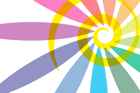 spiral pattern: Background material wallpaper    rainbow colors, seven colors, rainbow, spiral pattern, swirl, spiral
