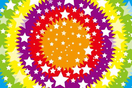 medal like: Background Material wallpaper    Pattern rainbow, rainbow, rainbow colors, seven colors, stars, star, star pattern, medal pattern, radial