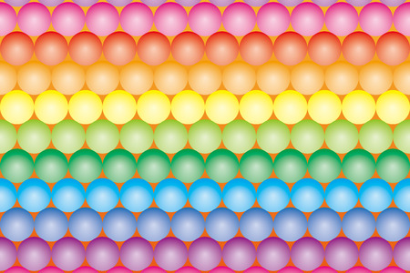bargains: Background Material wallpaper   Color ball which has been paved, rainbow, rainbow colors, seven colors   Illustration