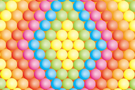 Material wallpaper. Colored balls. Vector