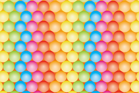 Material wallpaper   Colored balls, balls, rainbow, rainbow colors, seven colors,   Vector