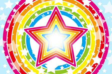 배경 자료 벽지 디자인 패턴의 큰 별, 스타, 스타, 스타 패턴, 별, 무지개, 무지개 색상, 칠 색상, 스톡 콘텐츠 - 30822489