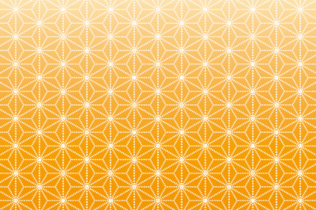 Background Material wallpaper  (A pattern Japanese style of hemp leaves) Illustration