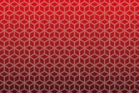 i net: Background Material wallpaper  (Continuous skeleton of a cube) Illustration