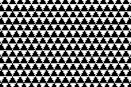 Wallpaper  (Pattern of the triangle, equilateral triangle,) Vector