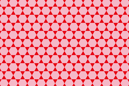 hexagonal shaped: Background Material wallpaper  (Pattern set of hexagonal star)