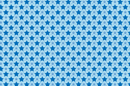 thumbnail: Wallpaper Background Material  (Pattern of star pattern, star, star, stardust,) Illustration
