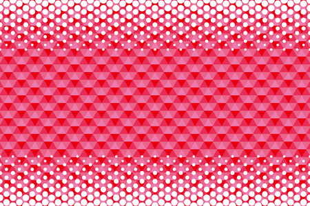 Background Material wallpaper (Pattern of dither and hexagonal tiles)  イラスト・ベクター素材