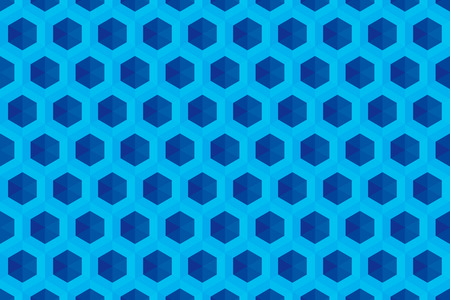 Background material wallpaper (Hexagonal block pattern) Illustration