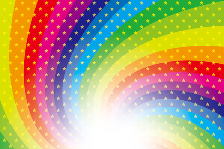 stardust: Background material wallpaper (Radiation of stardust and rainbow colors)