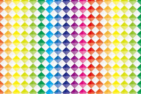 Background material wallpaper (Square rivet style tile) Illustration