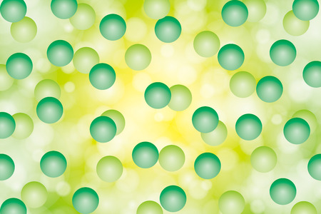Background material wallpaper (A large number of small spheres and the pale glow) Vector