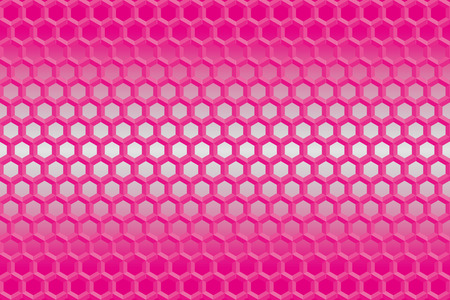 metal background: Background material wallpaper (Hexagonal wire mesh) Illustration