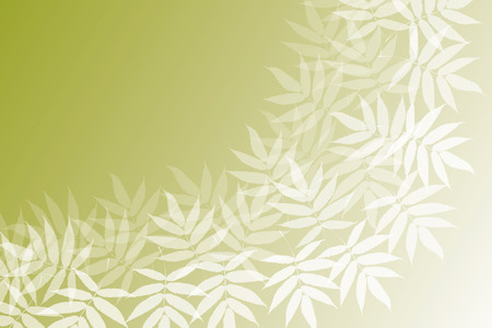 early: Background material wallpaper (Pattern of young leaves, green leaves, early summer) Illustration