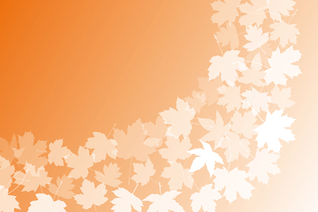 Background material wallpaper (, Autumn leaves, deciduous, fall, ginkgo, maple, maple)