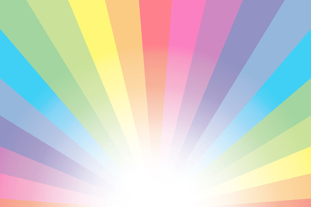 Rainbow background material wallpaper