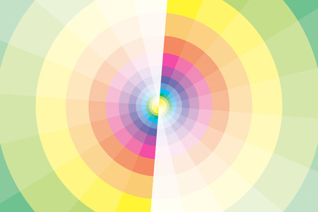 thumbnail: Background material wallpaper, rainbow-colored circle and windmill, rainbow, colorful, background, wallpaper, sales promotion, flyers, posters, avatars, thumbnail, icon, profile